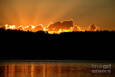 Photograph - August Rays  by Neal Eslinger