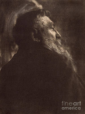 Photograph - August Rodin by Granger