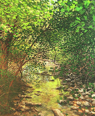 Painting - August Shade by David Bottini