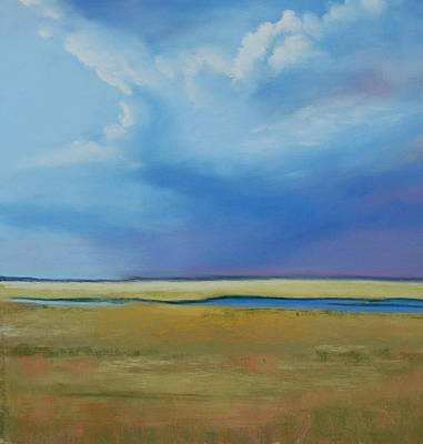 August Sky Art Print by Jeanne Rosier Smith