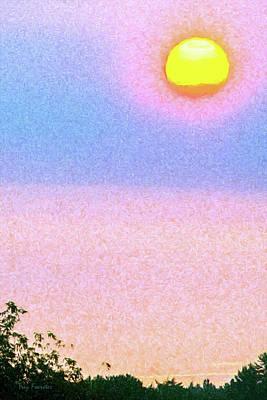 Digital Art - August Sunrise by Trey Foerster