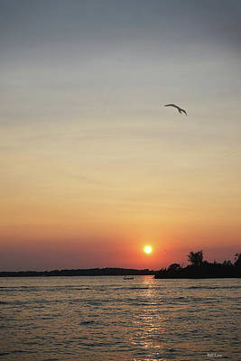 Photograph - August Sunset by Bill Lere