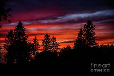 Photograph - August Sunset by Cheryl Baxter