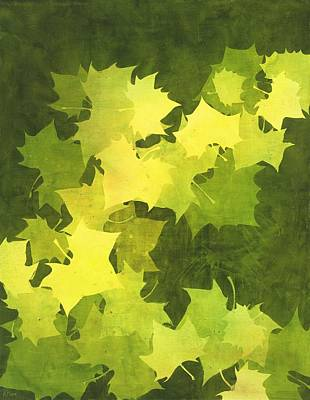 August Sycamore Art Print by Kathy Moon