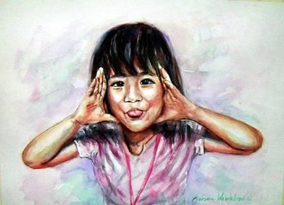 Painting - August by Wanvisa Klawklean