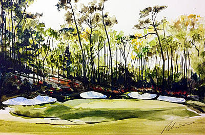 Painting - Augusta 2 by Mark Robinson