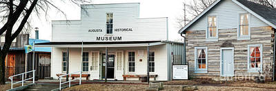 Photograph - Augusta Historic Museum by Fred Lassmann