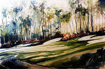 Painting - Augusta by Mark Robinson