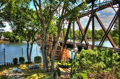 Photograph - Augusta River Walk 02 by Donald Williams