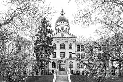 Augustana Photograph - Augustana College Old Main Classic by University Icons