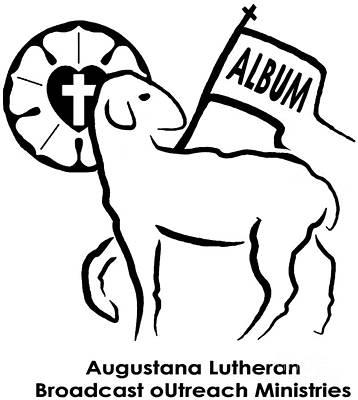 Augustana Photograph - Augustana Lutheran Broadcast Outreach Ministries Logo by Jost Houk