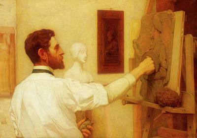 Augustus Saint - Gaudens                                     Art Print