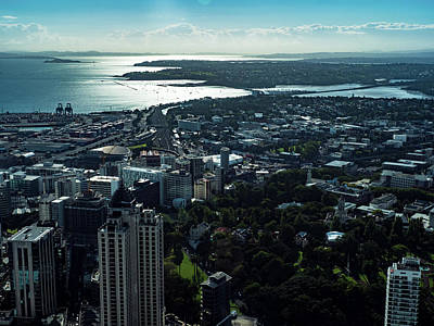 Photograph - Auckland, New Zealand by Walt Sterneman