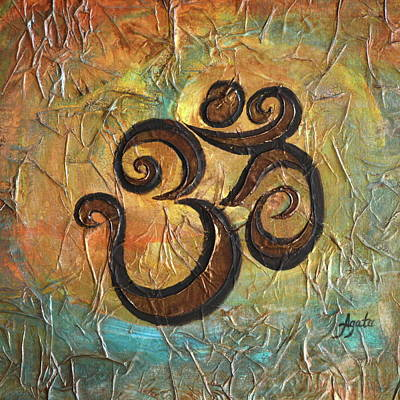 Painting - Aum by Agata Lindquist