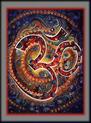 Digital Art - Aum - Mantra Of Universal Energy  by Harsh Malik