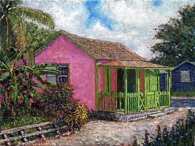 Aunt Suzy's Cottage Art Print