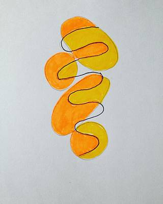 Molecule Drawing - Aura 2 by Roger Gregory