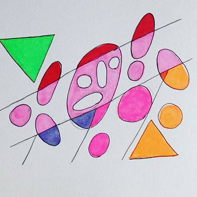 Molecule Drawing - Aura 3 by Roger Gregory