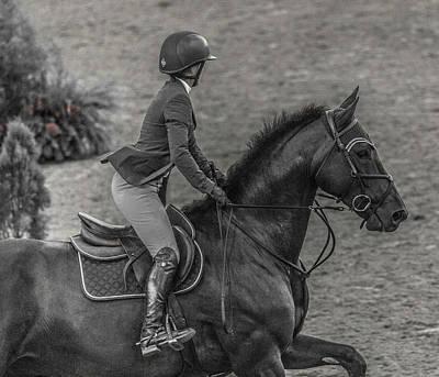 Warmblood Photograph - Aura  by Betsy Knapp