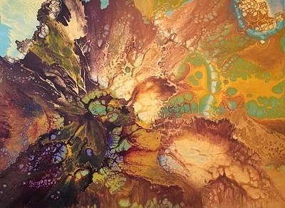 Painting - Aura by Soraya Silvestri