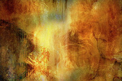 Digital Art - Auric Dawn - Abstract Art by Jaison Cianelli