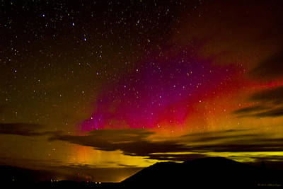 Photograph - Aurora And Dipper by Albert Seger