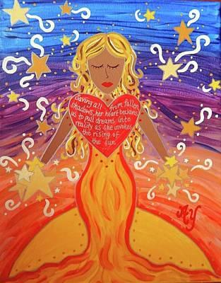 Painting - Aurora by Angela Yarber