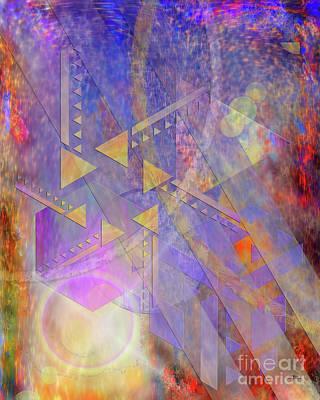 Aperture Digital Art - Aurora Aperture by John Robert Beck