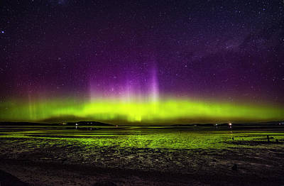 Photograph - Aurora Australis by Odille Esmonde-Morgan