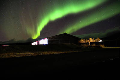 Photograph - Aurora Borealis - 1 by Perggals - Stacey Turner