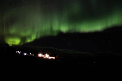 Photograph - Aurora Borealis - 5 by Perggals - Stacey Turner