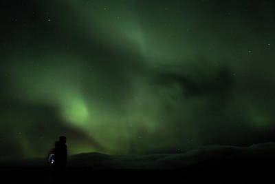 Photograph - Aurora Borealis - 9 by Perggals - Stacey Turner