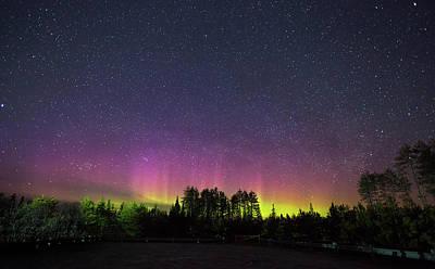 Photograph - Aurora Borealis  by Brian Boudreau