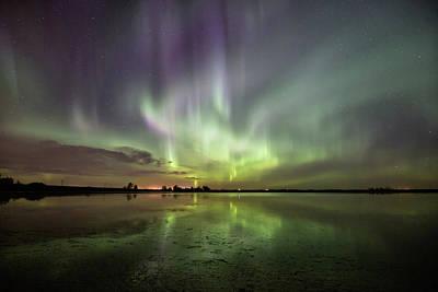 Photograph - Aurora Borealis by Celine Pollard