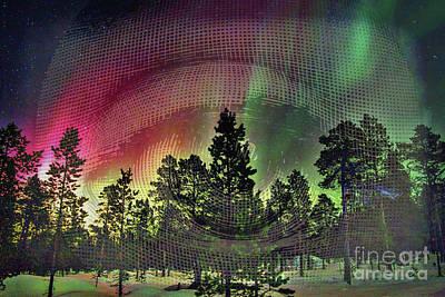 Photograph - Aurora Borealis Eyes by Todd Breitling