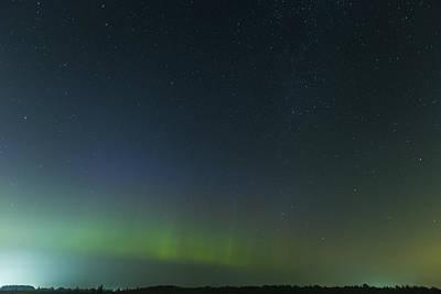 Photograph - Aurora Borealis by Josef Pittner