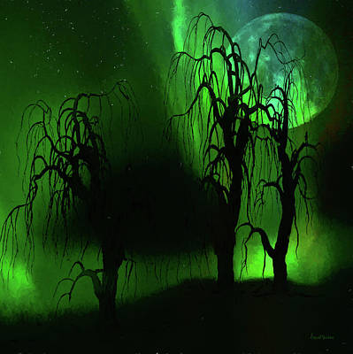 Digital Art - Aurora Borealis Lights - Painting by Ericamaxine Price
