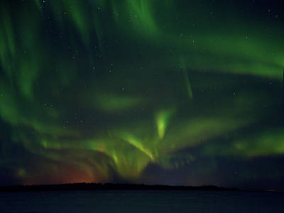 Photograph - X. Aurora Borealis Over Kemi by Jouko Lehto