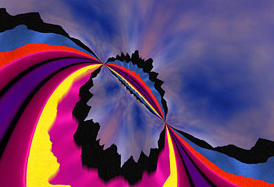 Digital Art - Aurora Borealis by Paul Wear