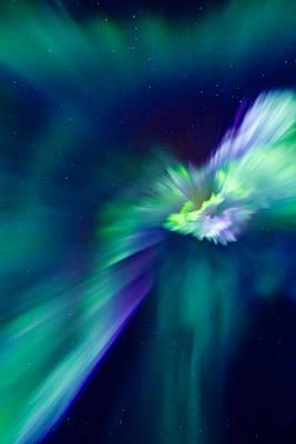 Northern Lights Photograph - Aurora Corona by Frank Olsen