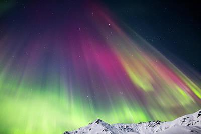 Photograph - Aurora Corona by Matt Skinner