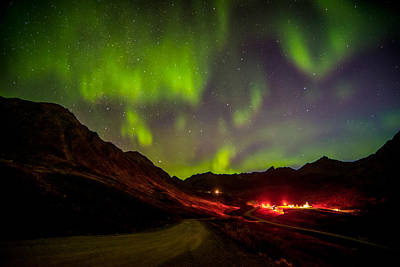 Independence Mine Photograph - Aurora Gold by Ron Day