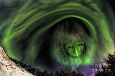 Photograph - Aurora by Kira Bodensted