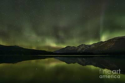 Photograph - Aurora Light Beams by Adam Jewell