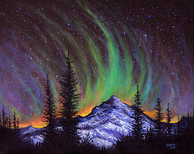 Steele Painting - Aurora  Magic by Chris Steele
