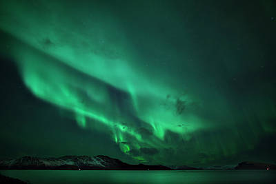 Aurora Over Seiland Art Print by Espen Ørud