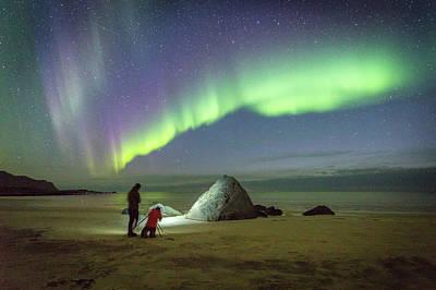 Aurora Photographers Art Print