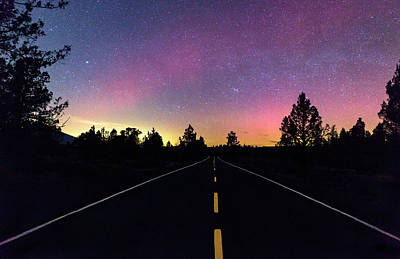 Photograph - Aurora Road by Cat Connor