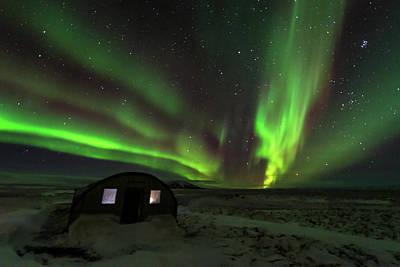 Photograph - Aurora Storm by Allen Biedrzycki