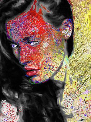 Mixed Media - Aurora by Tony Rubino
